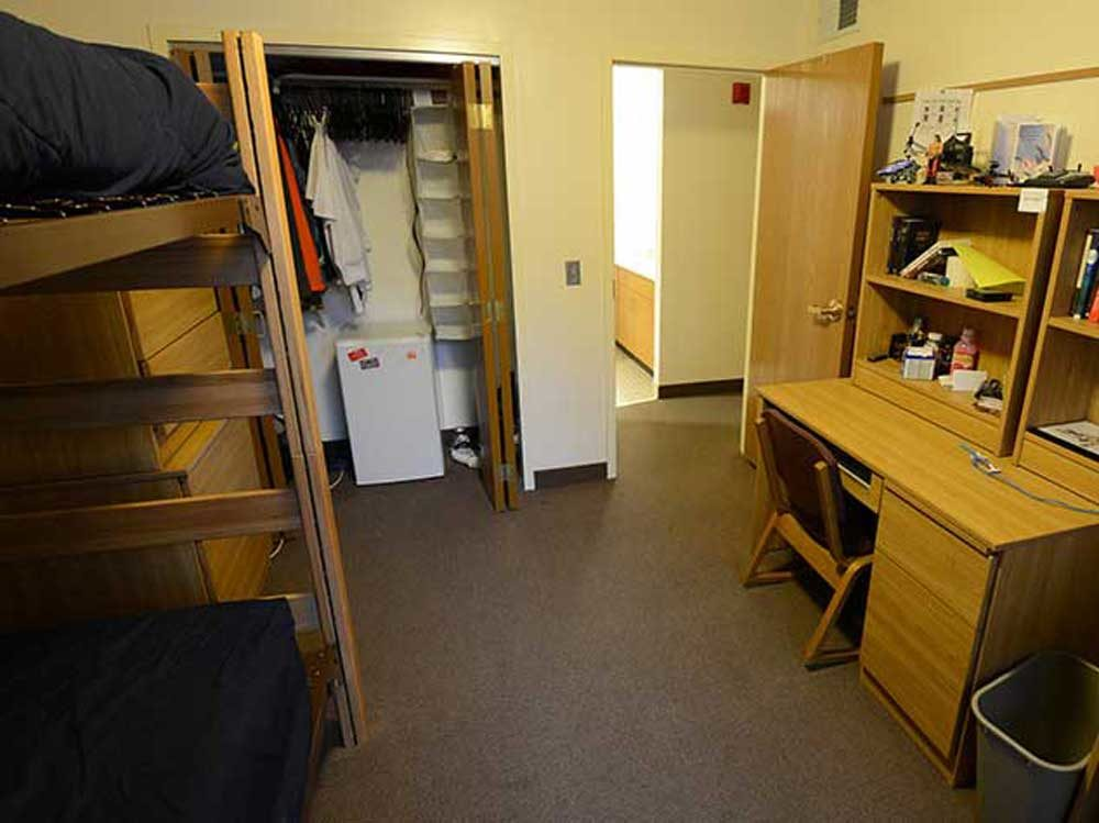North Central College Dorm Room