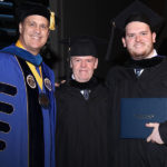 Davis father and son graduate with master's degrees